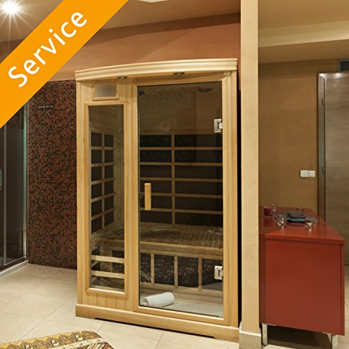 Indoor Sauna Assembly - 2 Person Sauna