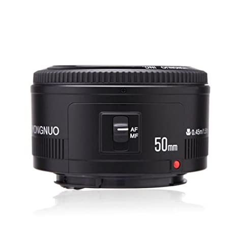 Yongnuo_ YN50 mm F1.8 Lens Large Aperture Auto Focus Lens for Canon EF Mount EOS Cameras Camera Lenses