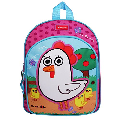 Kidz Room 030 – 7530 – 1 Friends Mochila Gallina 31 x 25 x 9 cm Kidzroom 030-7530-1
