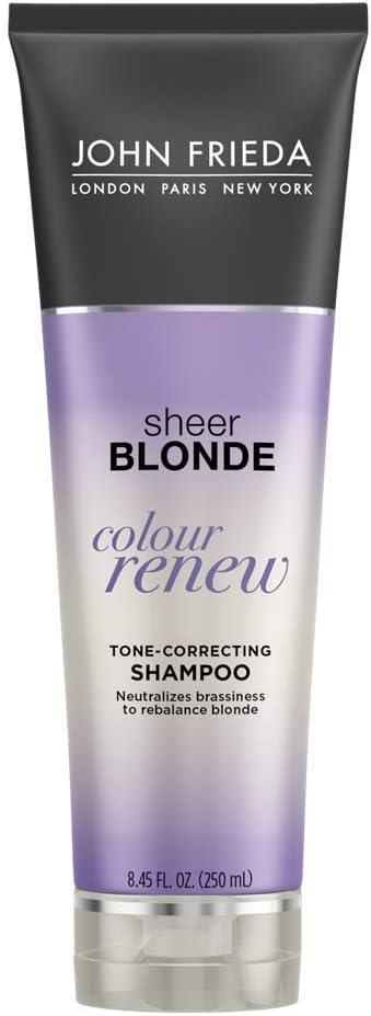 John Frieda Sheer Blonde Colour Renew Purple Shampoo 8 45 Ounces Pack Of 2 Amazon Co Uk Beauty