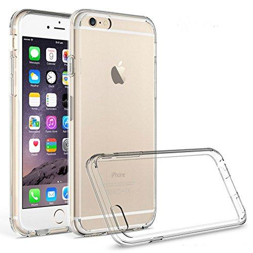 Custodia per iPhone 66S Plus 5,5pollici, Custodia per iPhone 66S Plus–Ultra Sottile Soft Silicone Custodia di protezione contro impronte digitali, Polvere e urti TPU Case per iPhone 66S 5.5poll