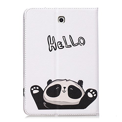 6 Generation Card Inch Sleep Panda PU Closure Function 8th Ultra Magnetic Auto LMFULM® of Thin Bookstyle Kindle Color Hello Case Leather eReader Wake Pattern Amazon Case Say Kindle for Leather 1 2016 xwCqzY