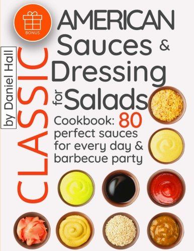Classic American sauces dressing salads Cookbook product image