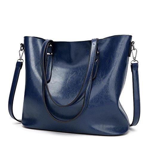 Penao simple Besace 32cmx12cmx29cm Blue bandoulière belle dame unique mode taille rqrHTxZw1