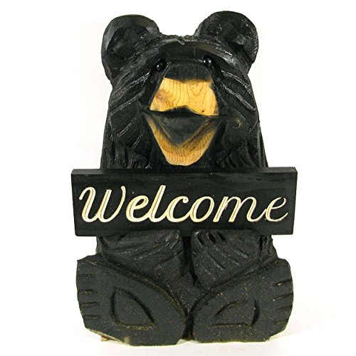 chainsaw carved bear - 1