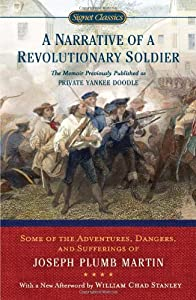 A Narrative Of A Revolutionary Soldier Book By Joseph Plumb Martin