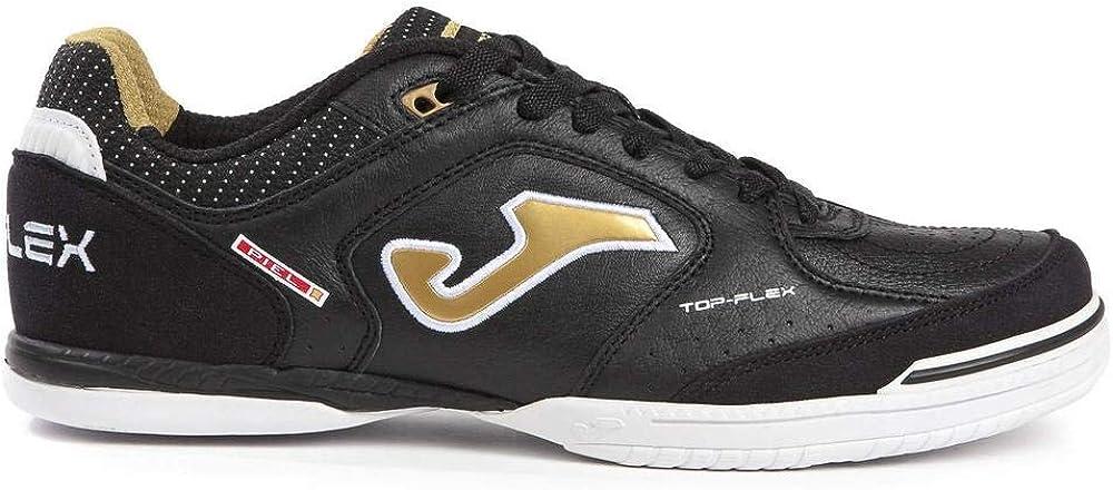 Black, 8.5 M US Joma Mens Top Flex 801 Indoor Soccer Shoe