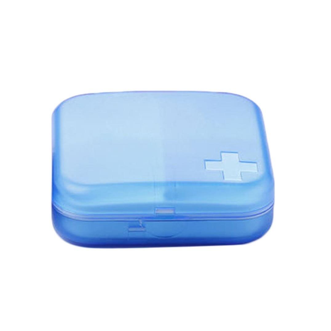 Hunpta Mini Portable Carry On Gum Travel Pill Box Case (A) Hunpta@