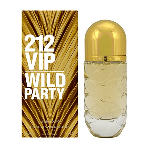 Carolina Herrera 212 VIP Wild Party Eau De Toilette Spray (Limited Edition) (Perfumes For Women 212 Party)