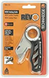 Techni Edge 03-731 REVO Folding Utility Knife (Black or Gray, Color Varies)