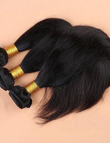 Avec De Extension Traité 100Brésilienne 22 Qualité 24 Faisceaux 7a Grade 3 Part Cheveux JffNon 20 Vierge 4Soie 24 Fermeture Haut side Droite XNP0On8wk