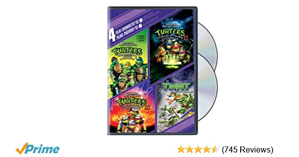 Amazon.com: Teenage Mutant Ninja Turtles: The Original Movie ...