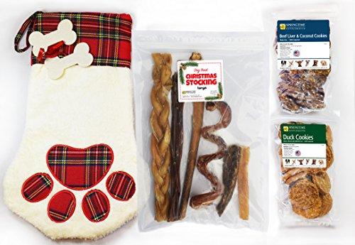Springtime Dog Treat Christmas Stocking - (Dog Filled Stocking)