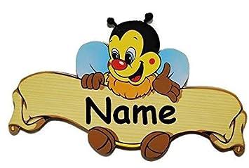 Unbekannt Turschild Namensschild Schild Kinderzimmer Holz Kinder