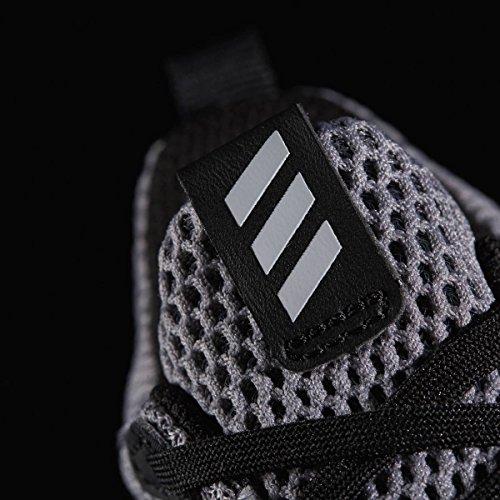 adidas alphabounce i - Zapatillas deportivaspara niños, Gris - (GRIS/ONICLA/AZUL), 21