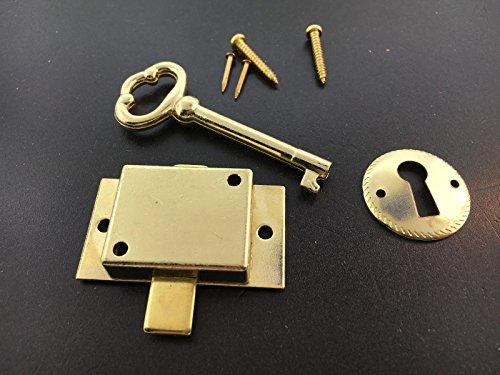 Grandfather Clock Door Lock Key Set for Howard Miller Ridgeway Sligh (Sligh Grandfather Clock)