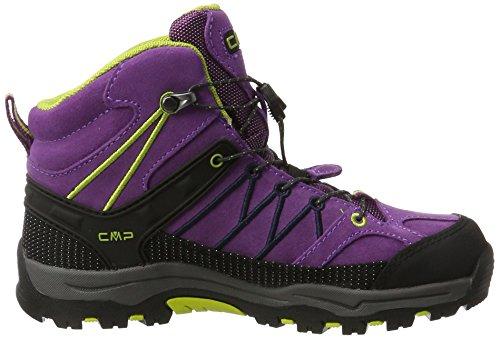 CMP lime Randonnée Hautes Purple de WP Adulte Violet Mixte Mid Green Chaussures Rigel Twa1qrTZ