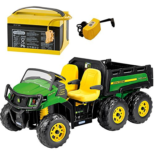 Peg-Perego John Deere Gator XUV 6x4 Ride On with Extra 24...