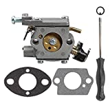 Butom 309362001 309362003 Carburetor with Gasket Adjustment Tool for Homelite UT-10560 UT-10562 UT-10564 UT-10566 UT-10568 UT-10569 UT-10580 35cc 38cc 42cc Chainsaw