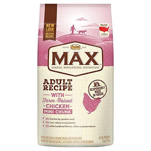 Nutro Max Adult Mini Chunk Dry Dog Food With Farm Raised Chicken, 4 Lb. Bag