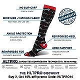 HLTPRO Compression Socks for Women & Men - 4
