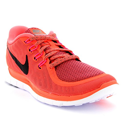 Wmns Lava Hot Orange Scarpe Sportive Tumbled Black 0 Grey 5 Donna Nike Free d4Fqd1