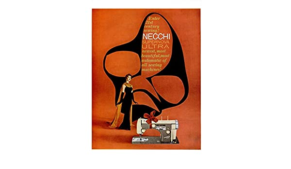 Amazon.com : 1958 NECCHI SUPERNOVA ULTRA SEWING MACHINE