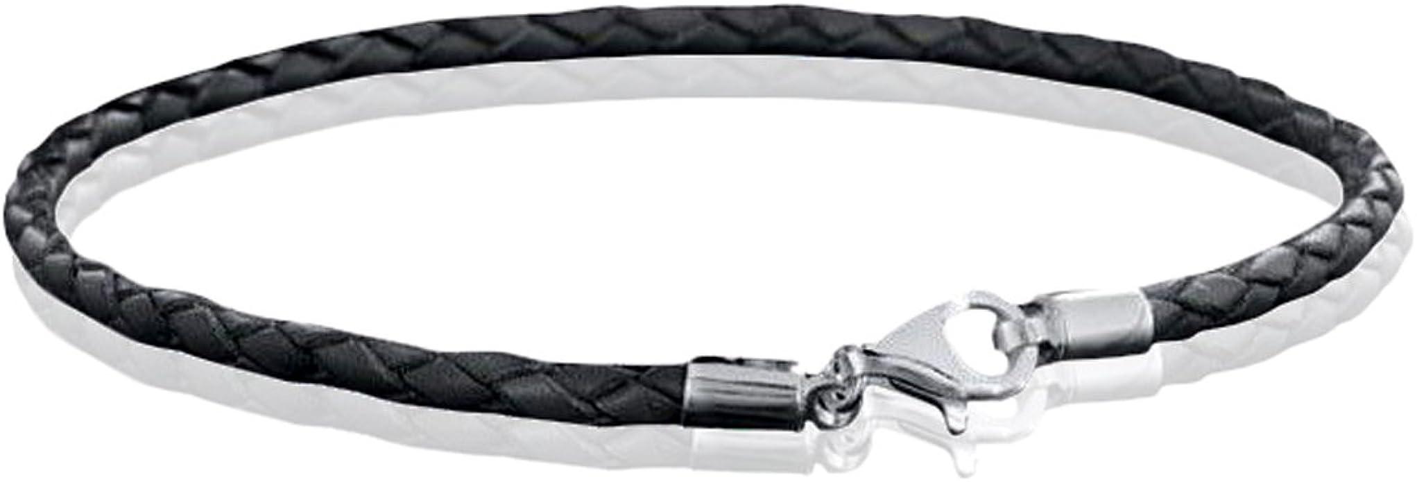 Bracelet pour hommes et femmes Materia en argent 925-18-22 cm A58.