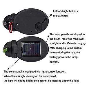 Furniture LED Light 4 Heads Solar Lantern LED Decorative Outdoor Lawn Lamp 4 Flower Lily Garden Lamp