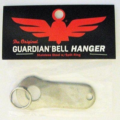 Guardian® Bell Motorcycle Biker Luck Gremlin Riding Bell Hanger (Original Version), Standard, Silver