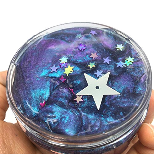 TiTCool Fluffy Slime Galaxy Colorful Mixing Cloud Cotton Can