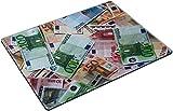 MSD Place Mat Non-Slip Natural Rubber Desk Pads design 26790942 money euro dirrent rating throw on the flour