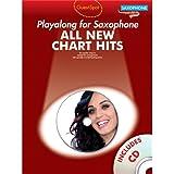 Guest Spot: All New Chart Hits (Alto Saxophone). Partitions, CD pour Saxophone Alto
