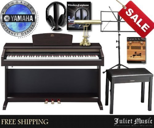 Yamaha Arius YDP181 YDP-181 88-Key Digital Piano Delux for sale  Delivered anywhere in USA