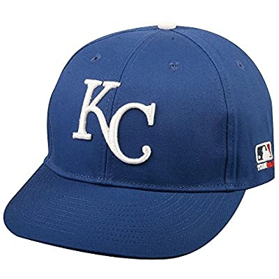 Kansas City Royals Youth Adjustable Hat Cap - Blue And White by Outerstuff Ltd.