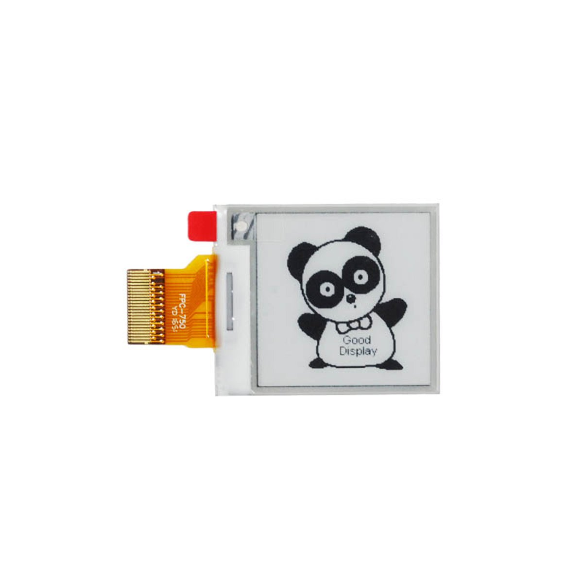 GooDisplay E-Paper Screen Eink Display Electronic Paper Display Panel Black and Write 1.54 Inch Ultra Low Temperature SPI Interface
