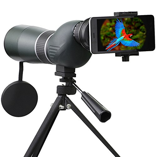 IPRee 15-45X60S Monocular Telescope HD Optic Zoom Lens Bird Watching High Definition View Eyepiece LeB