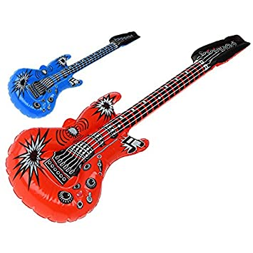 Atosa - B/Sol. Guitarra 101cm Hinchable: Amazon.es: Juguetes ...