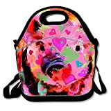 Weet Piglet Graffiti personalized Lunch Bag Insulated Tote Cooler Bag For Women and Men