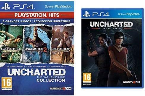 Uncharted Collection Hits - Versión 17 & El Legado Perdido: Amazon ...