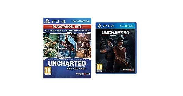 Uncharted Collection Hits - Versión 17 & El Legado Perdido: Amazon.es: Videojuegos
