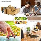 TIME4DEALS Mini Fingerboard Finger Skateboards Toy