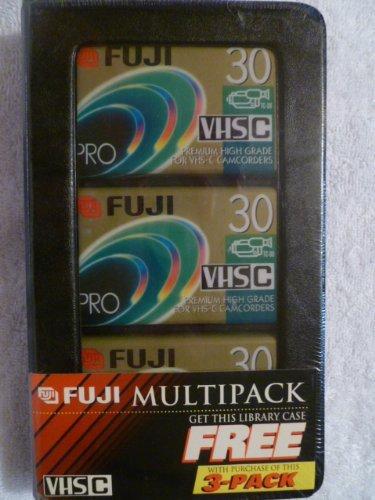 Fuji Multipack 3-pack Vhs C