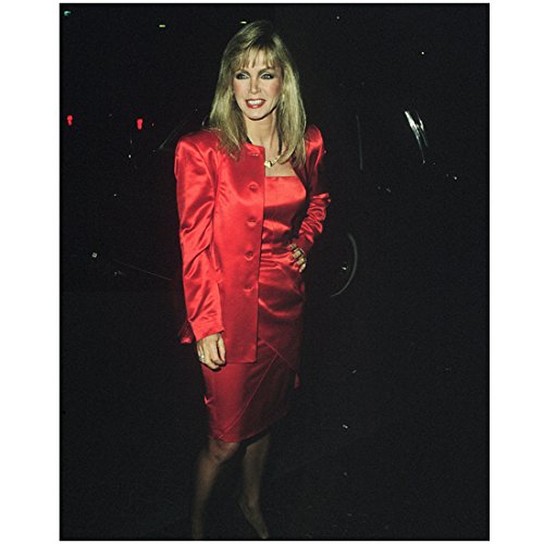 donna-mills-in-red-dress-with-matching-jacket-8-x-10-inch-photo