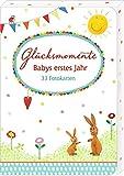 Fotokarten-Box - Glücksmomente - Babys erstes Jahr: 33 Fotokarten
