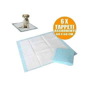 Trade Shop traesio10 Alfombrillas absorbentes para Perros Gatos 60 x 60 cm Cachorros pañales Traverse