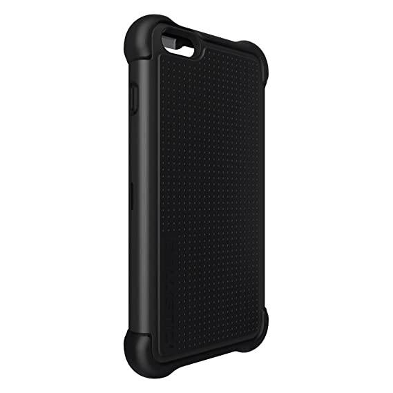 new style 8932c 15588 Ballistic TX1429-A06C Tough Jacket Maxx Case with Holster Belt Clip and  Screen Protector for the Apple iPhone 6 Plus and iPhone 6s Plus - Black