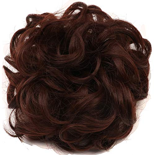 yuehong Synthetic Scrunchie Ponytails Accessories