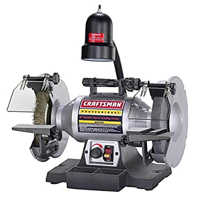 "Craftsman Professional Variable Speed 8"" Bench Grinder (21162)"
