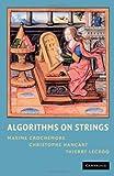 Algorithms on Strings 9780521848992